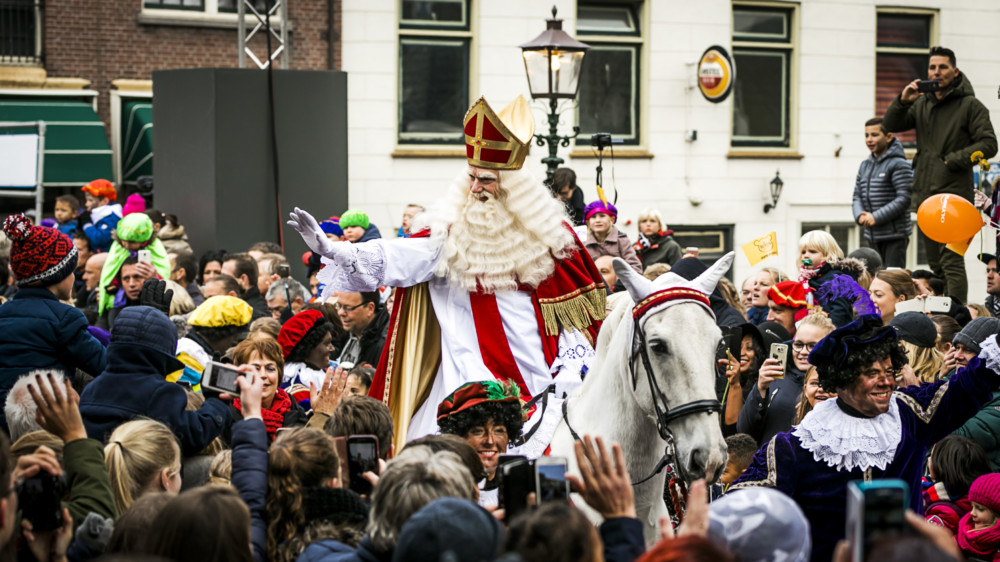 Sinterklaas bij Reede